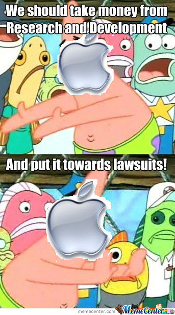 Apple, In A Nutshell. Stupid Iphone 5...