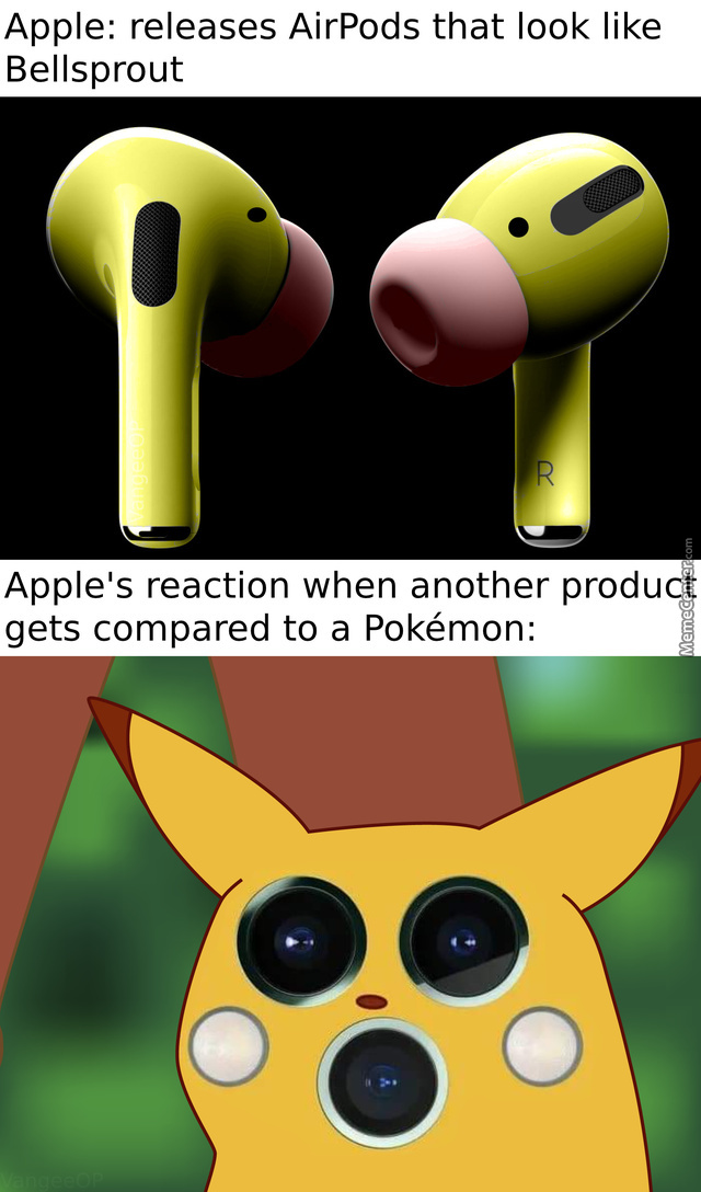 Apple Releases Airpods That Look Like Bellsprout