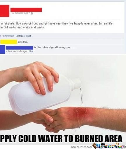 apply cold water to a burned area_o_1138567 apply cold water to a burned area by beelzebub meme center