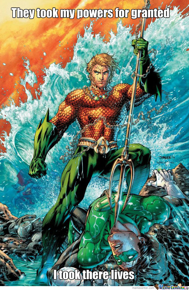 Aquaman Can Be Badass