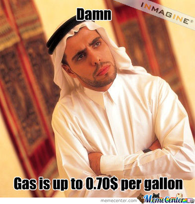 Arab Man Laughs At Your 3.60$ Per Gallon