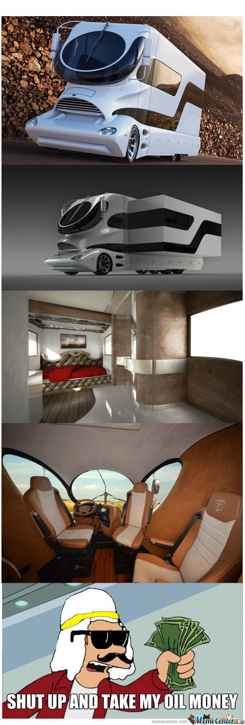 Arab Sheikhs Are Going Crazy For This $3 Million Motor Home.