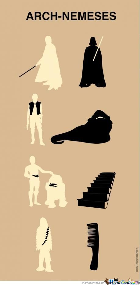 Arch-Nemeses Of Star Wars