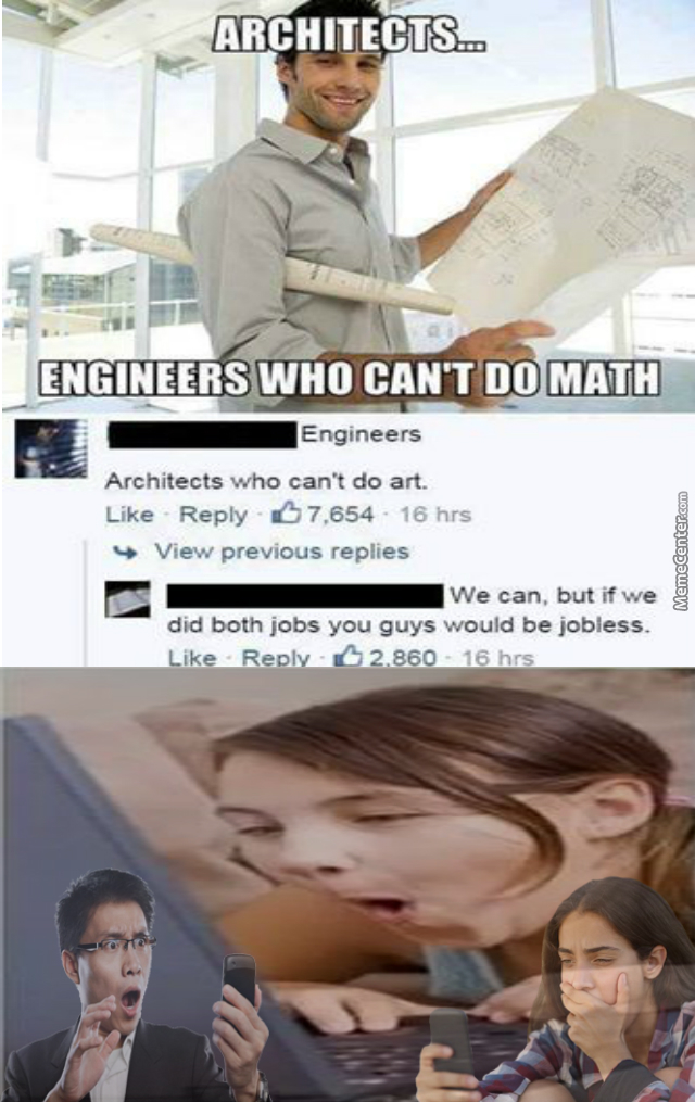 Architects = People Who Have No Chill