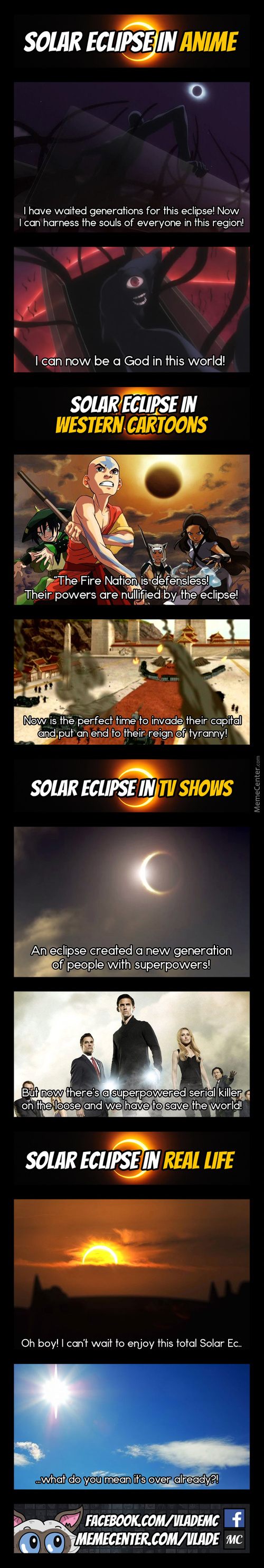 Are You Guys Ready For The Eclipse?