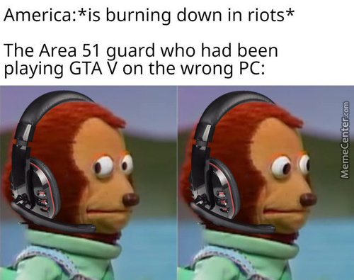 Area 51 Guard Back At It Again!