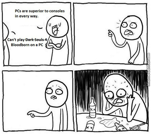 Arguing With A Console Peasant Yesterday And They Brought This Up (Didn't Have A Response)