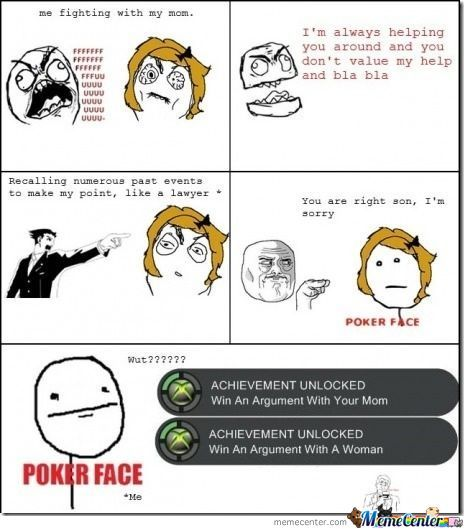 Arguing With Mom