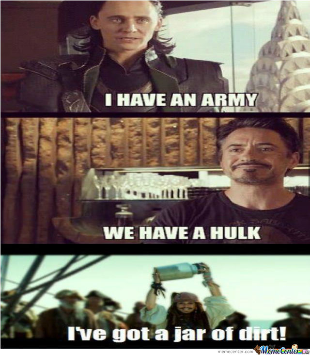 Army,hulk And A Jar Of Dirt