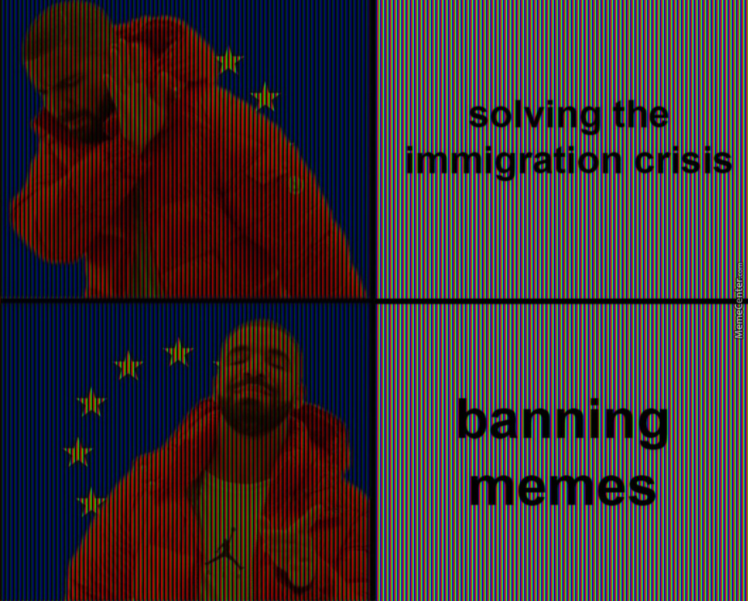Article 13 Passed, Get Ready For Overlay Memes