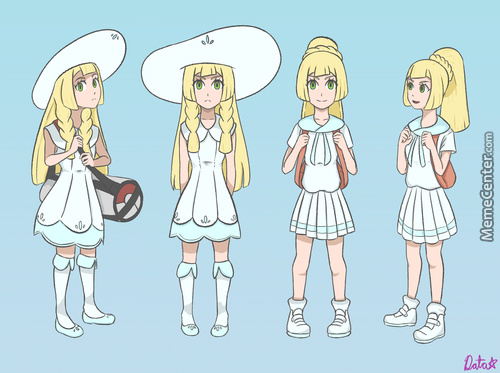 [Artstuffs] Lillie From Sun And Moon