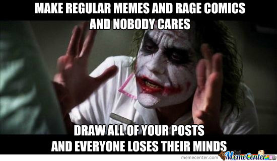 As A Starving Non-Artist Trying To Earn My Fair Wage Of Likes.