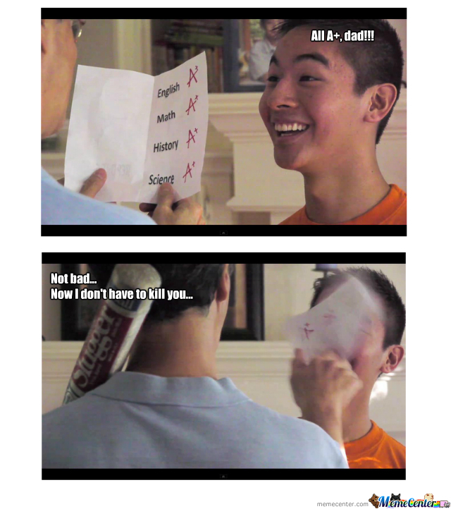Asian Dads...