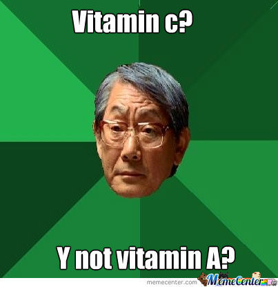 Asian Fathers And Vitamin