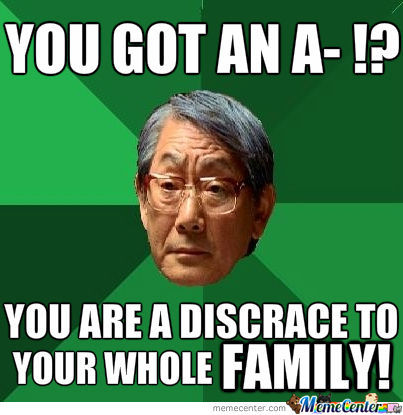Asian People And Their Obsession Over Grades