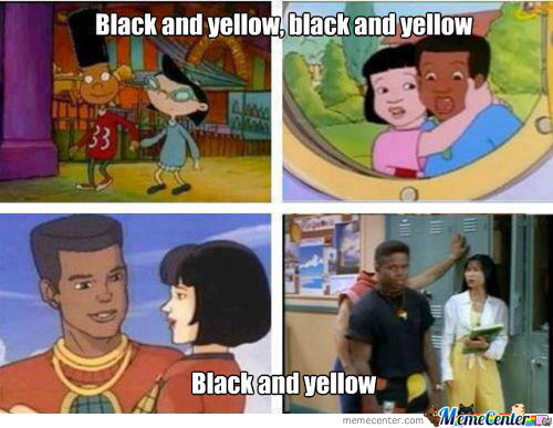 Asians And Blacks...