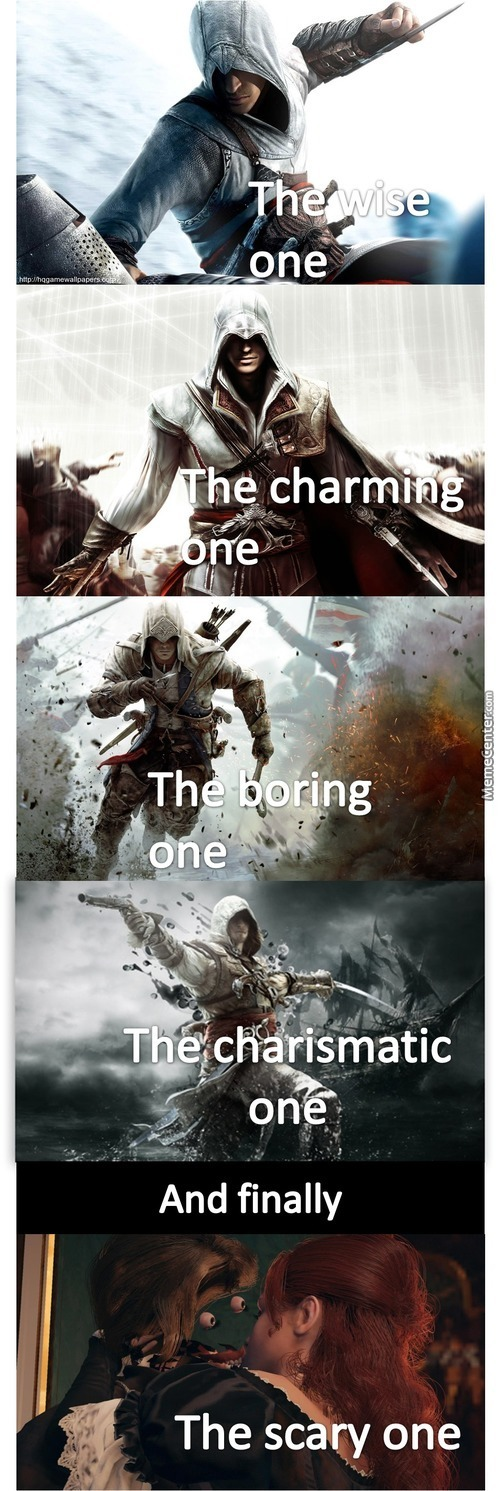 Assassin's Creed Characters As I See Them