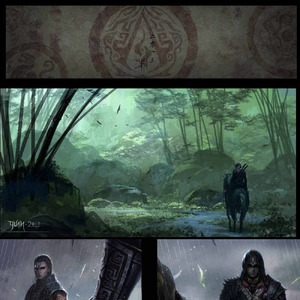 Assassin S Creed Fan Art Set In China And Some Black Flag Fan Art