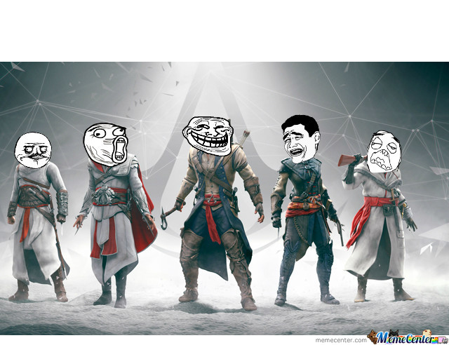 Assassin S Creed Memes By Alexandros Dafnis Meme Center