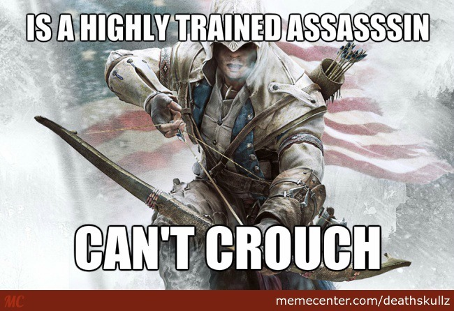 Assassin Creed 3 Logic By Deathskullz Meme Center