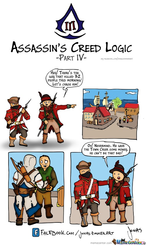 Assassins Creed 3 Logic - Part 4: Town Crier
