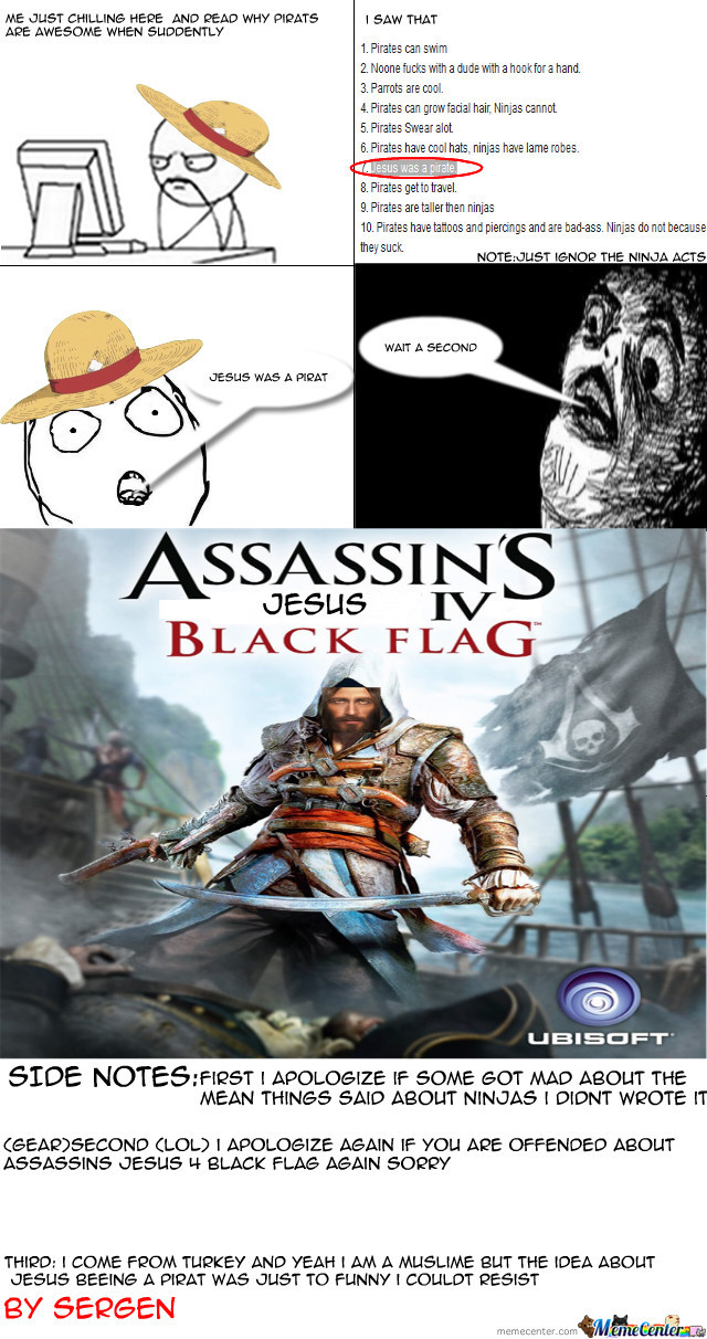 Assassins Jesus 4 Black Flag