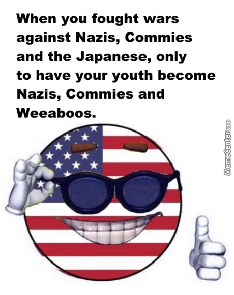 At Least We Won The World War 2, Right? R-Right?