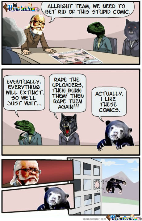Boardroom suggestion - At Memecenter Hq