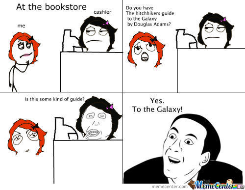 At The Bookstore (True Story)