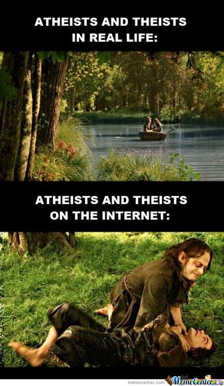 Atheists And Theists