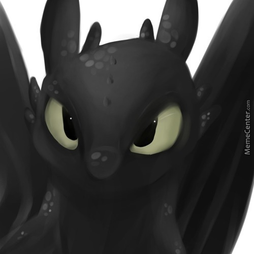 Attempting Lineless (Feat. Toothless, Because...someone...got Me Back Into The Httyd Fandom >.>)