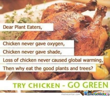 Attention Vegetarians!