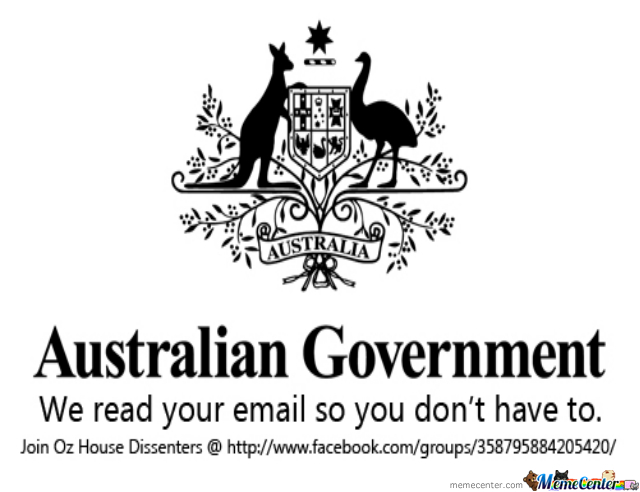 Australian Government Stfu