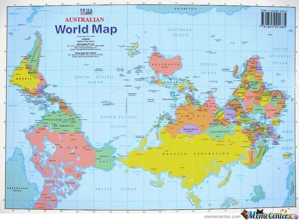 Australian world map by shadowgun meme center australian world map gumiabroncs Choice Image