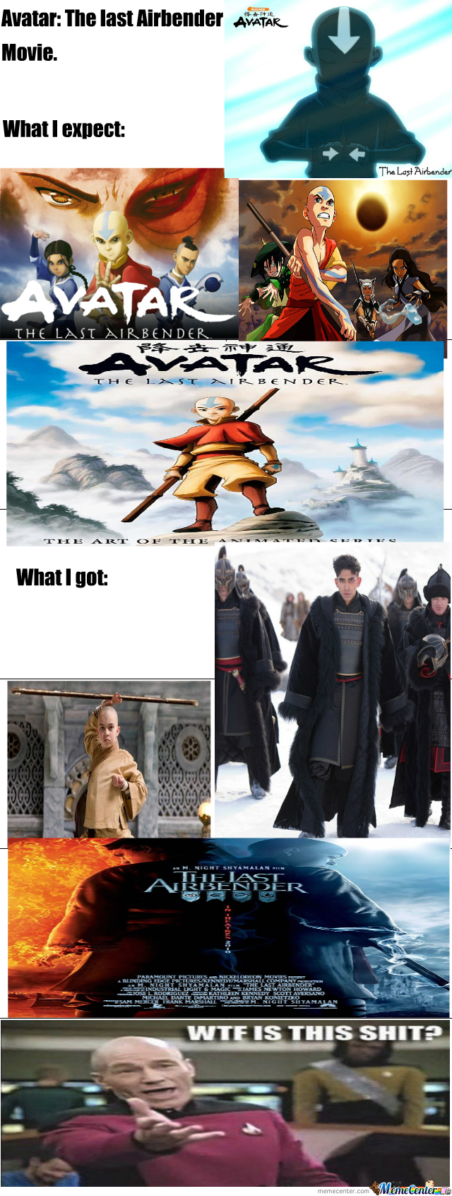 Avatar The Last Airbender Movie by nightmare - Meme Center