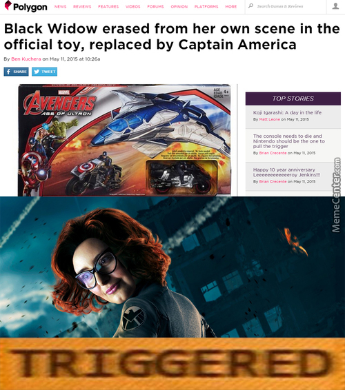 Avengers: Age Of Triggering