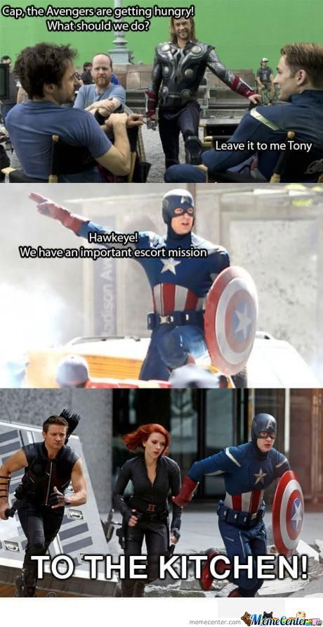 Avenger's Important Mission