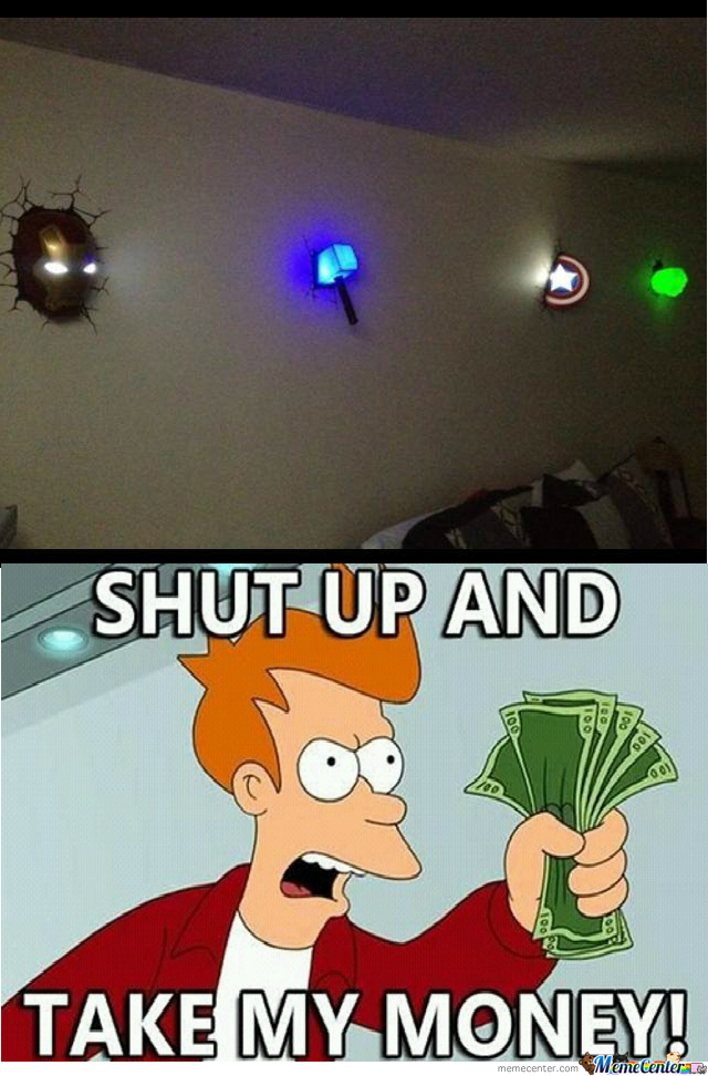 Avengers Night Light...