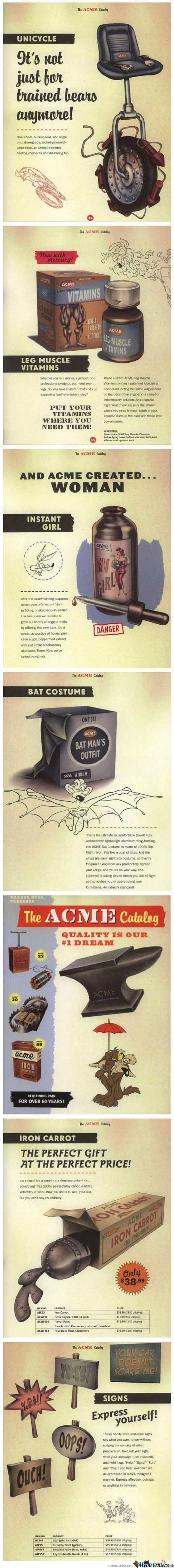Awesome Acme Ad Posters