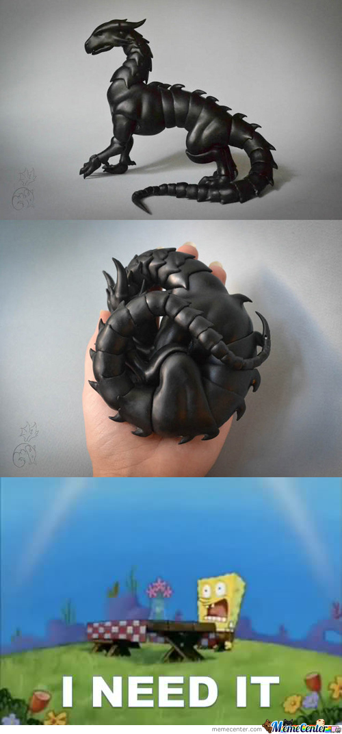 Awesome Ball-Joint Dragon Pets.