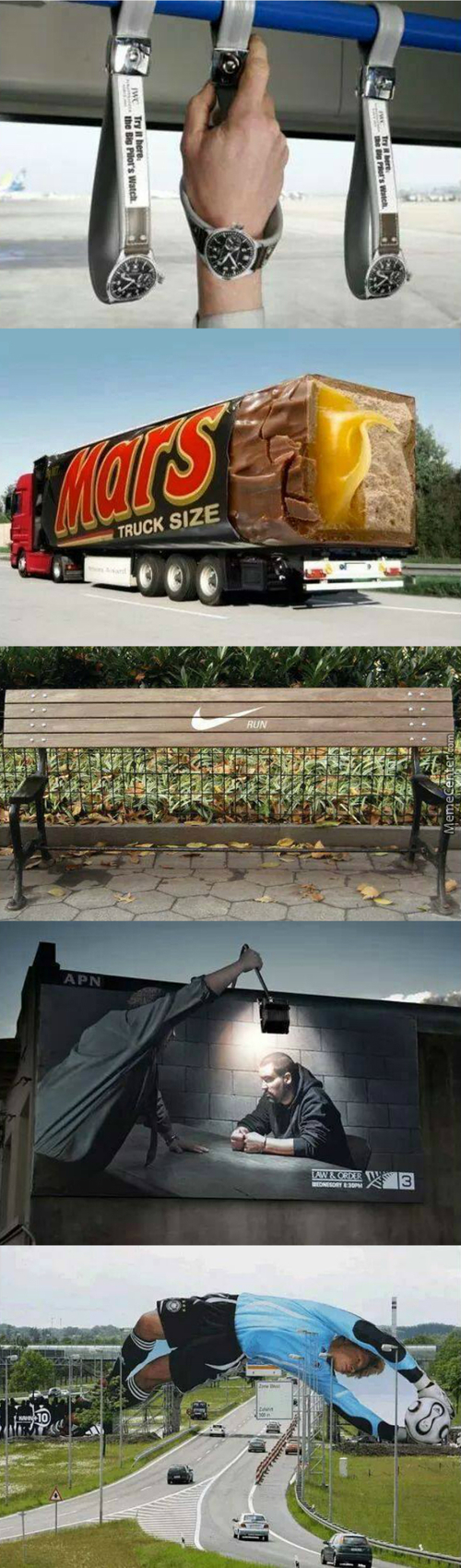 Awesome Examples Of Imaginative Advertising #2