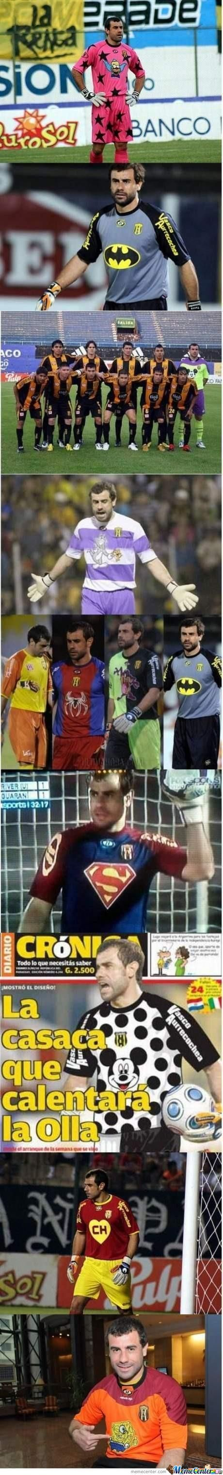 Awesome Goalkeeper Guy