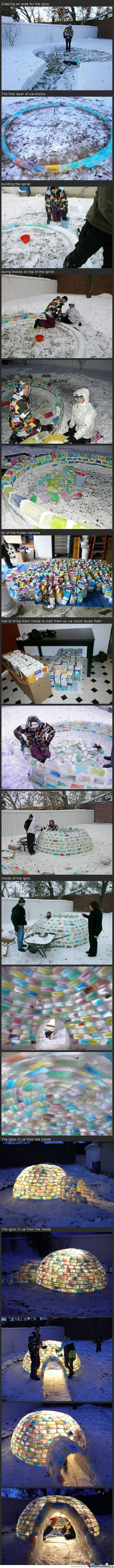 Awesome Igloo!