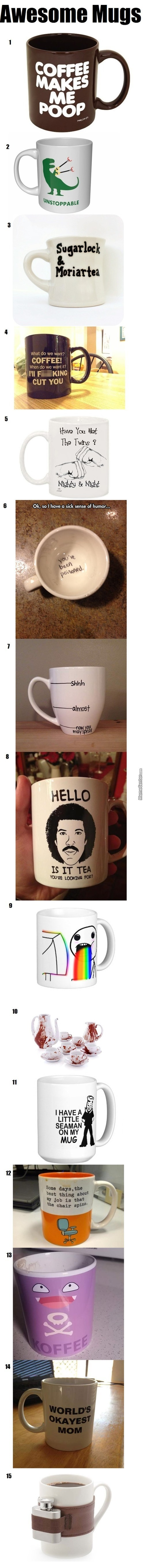 Awesome Mugs - Which One Is Your Favourite?