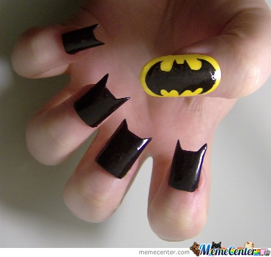 Awesome nail art by hipsterderpette meme center awesome nail art prinsesfo Gallery