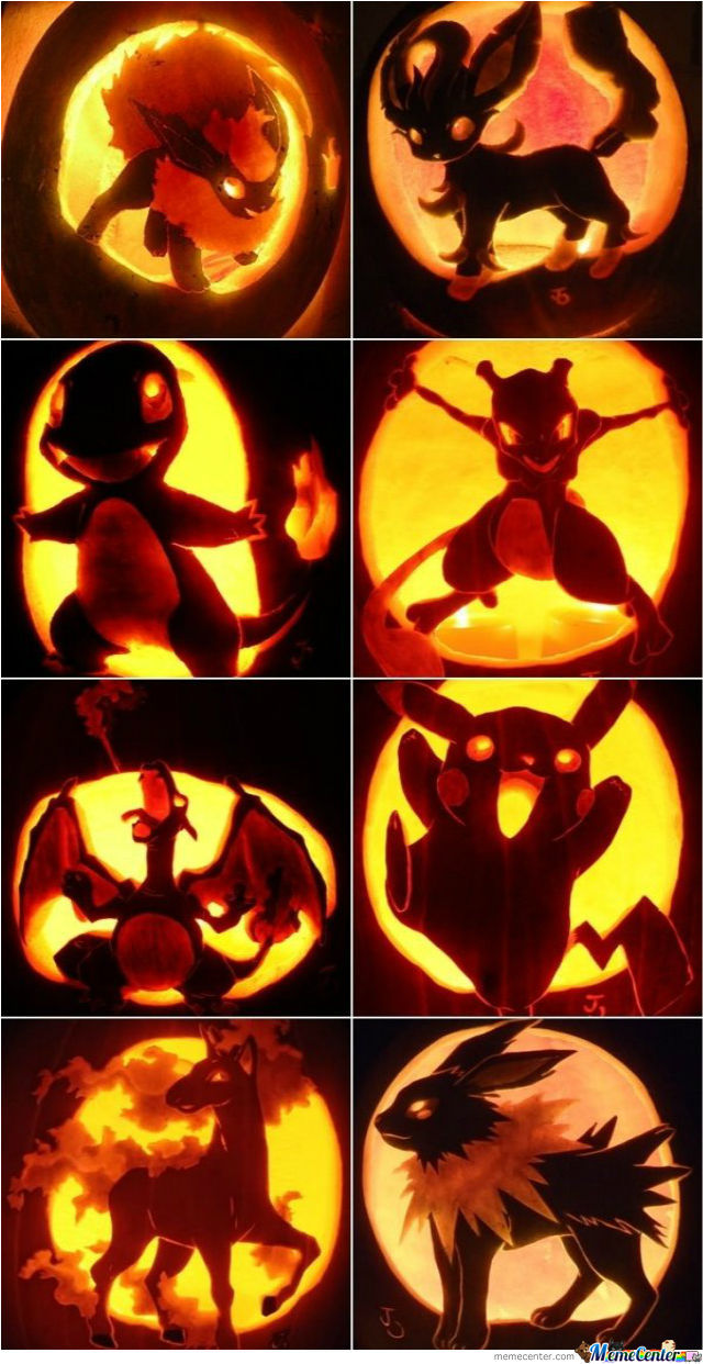 Awesome Pokemon Pumpkins