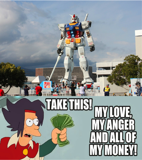 Awesome Real Life Gundam Is Awesome