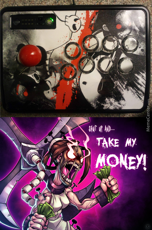 Awesome Skullgirls Arcade Stick Is Awesome!