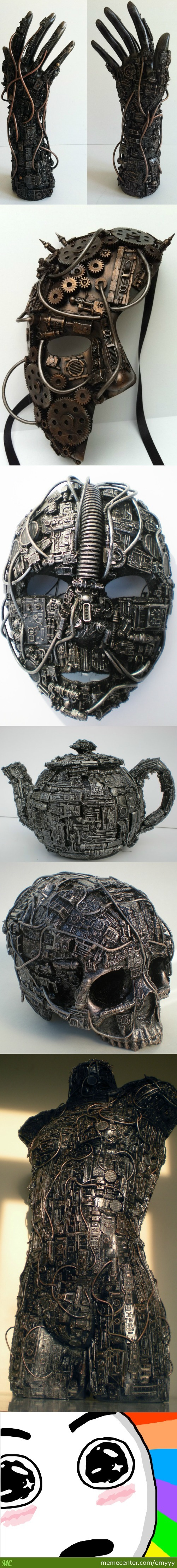 Awesome Techno Sculpture By Richard Symons