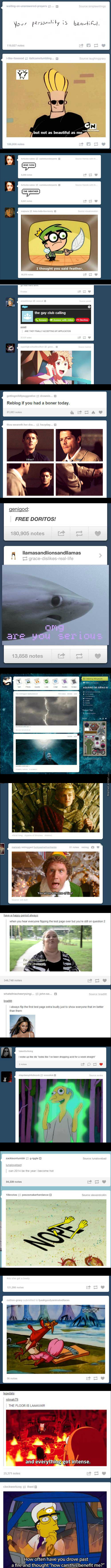 Awesome Tumblr Conicidences